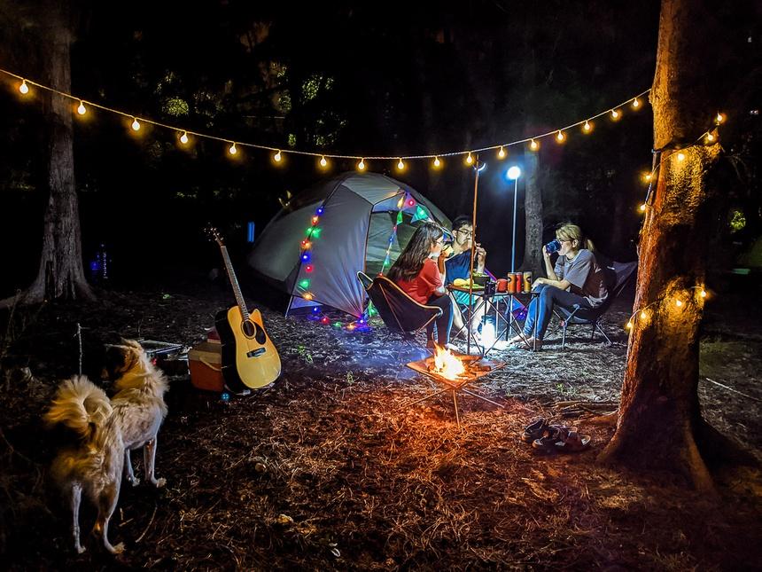 Rủ nhau đi cắm trại cắm trại cuối tuần gần TP.HCM - 1