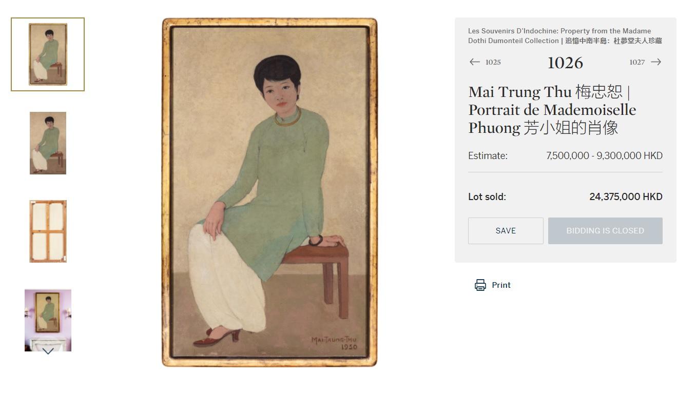 Giải mã nguyên do khiến bức tranh Việt đạt giá kỷ lục 3,1 triệu USD - 1