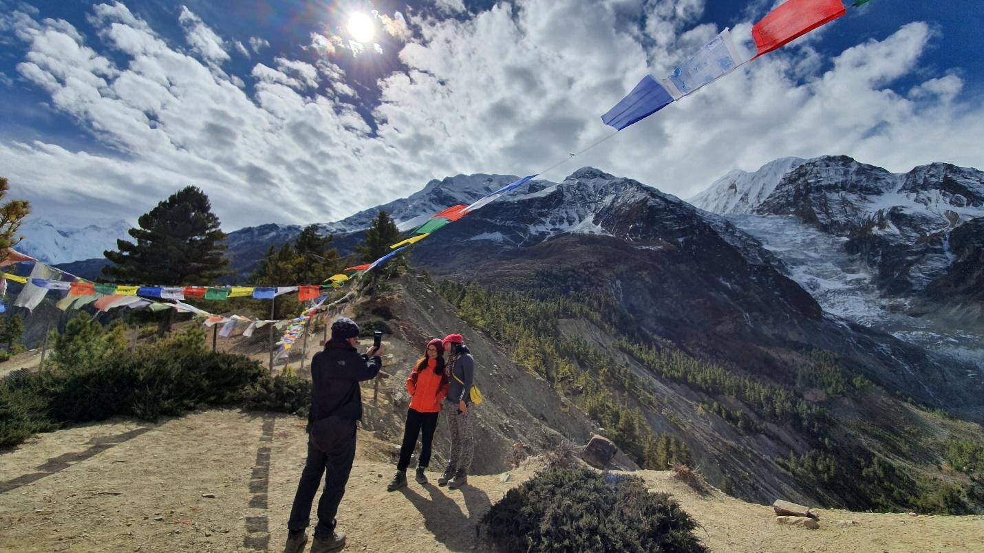 Tới Nepal, gửi lời nguyện cầu theo những lá cờ Lungta bay phấp phới - 3